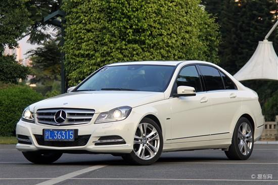 2013款奔驰C级呼和浩特新车到店 接受预订