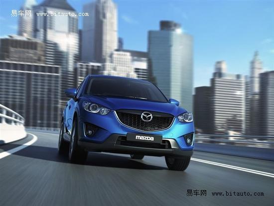 马自达CX-5广州车展亮相 先进口后国产
