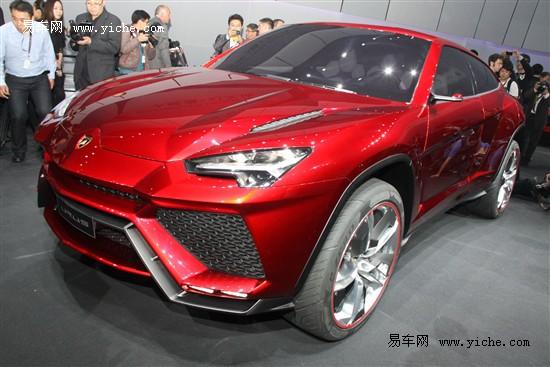 兰博基尼SUV概念车Urus北京车展全球首发