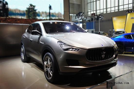 玛莎拉蒂计划推更小型SUV 最快2015年亮相