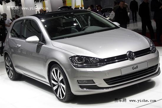 全新一代高尔夫亮相巴黎车展 明年秋国产