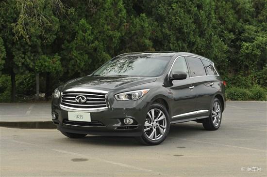 英菲尼迪JX广州车展上市 或售64.5万起