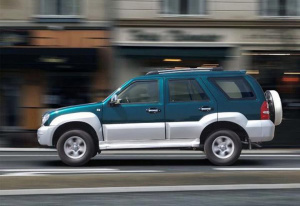 飞扬SUV正侧车头向左水平图片