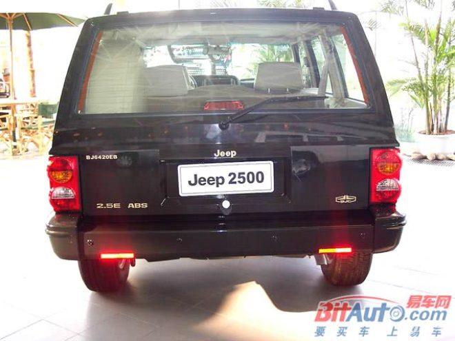 Jeep25002500正后水平
