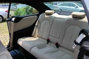 CLK级2006款 CLK 280 轿跑车 外观白色