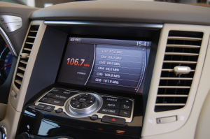 DVD 车辆控制界面1