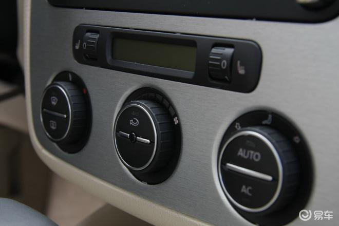 【宝来 1.4T 自动豪华型空调控制键图片】-易车网BitAuto.com高清图片