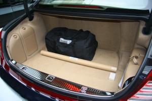迈巴赫62行李箱空间图片