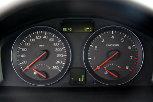 长安沃尔沃S40仪表盘图片