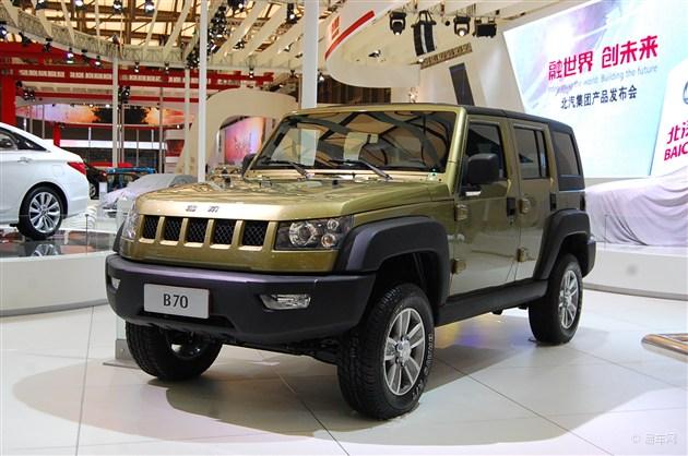 北京汽车b70概念车   根据此前的消息,bj40上市后将会推出加长版