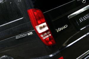 唯雅诺2011款 3.5L 时尚型 5速手自一体 6座 外观曜石黑