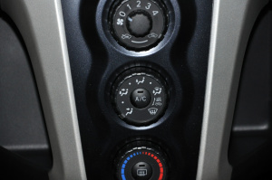 雅力士 中控台空调控制键