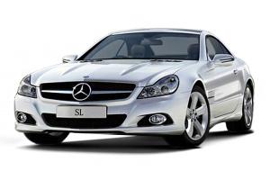 进口奔驰SL级 铱银色