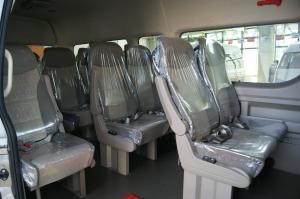 九龙商务车后排座椅图片