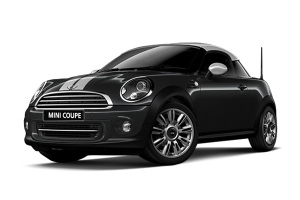 MINI COUPE 子夜黑金属漆