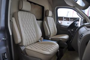 上汽大通V80改装车 商务休旅空间-极光银