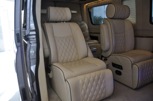 上汽大通V80改装车 后排座椅
