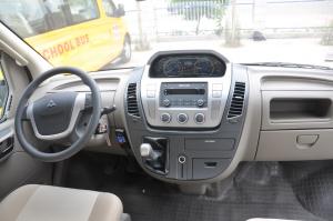 上汽大通MAXUS V80改装车 完整内饰(中间位置)