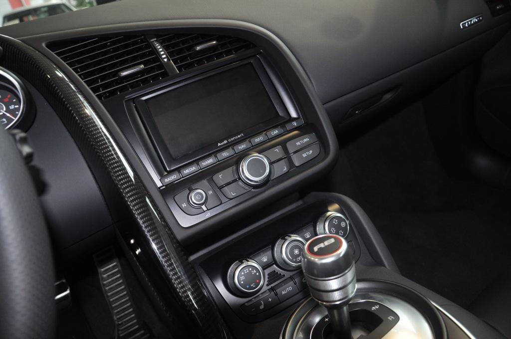 【奥迪r8(进口)-内饰图片中控台驾驶员方向】-网通社