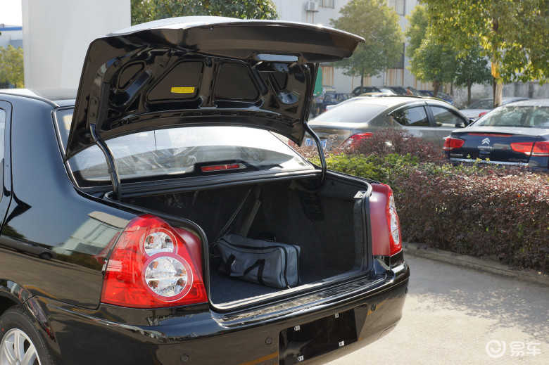 【新爱丽舍2013款1.6l 手动 科技型行李厢开口范围汽车图高清图片