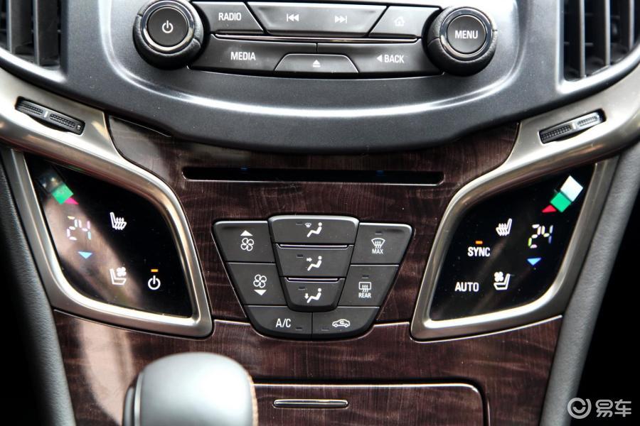 【君越2013款3.0L 智享旗舰型中控台空调控制键汽车图片-汽车图片大高清图片