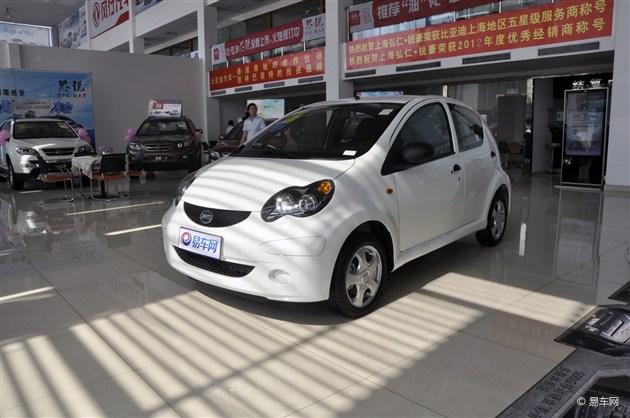 比亚迪F0 AMT车型上市 售4.29万-4.69万元