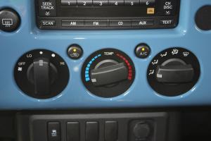 进口FJ酷路泽 中控台空调控制键