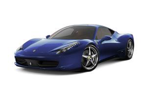 法拉利458 苏格兰蓝