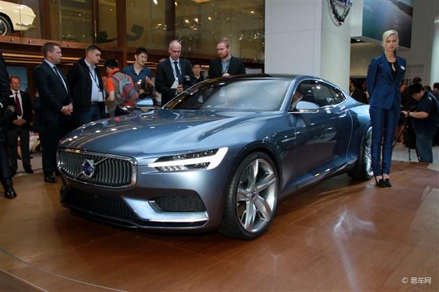 沃尔沃Coupe概念车亮相法兰克福车展