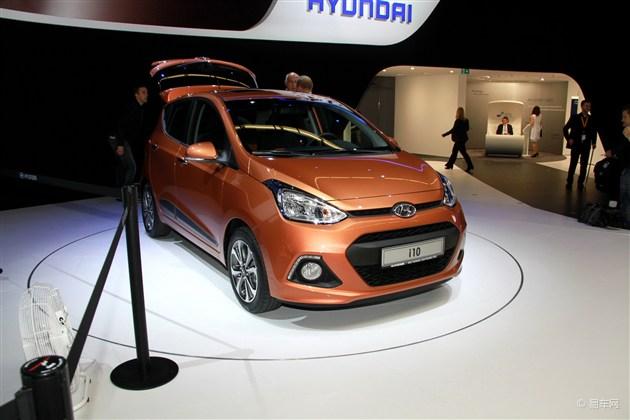 现代全新i10法兰克福车展首发 明年初上市