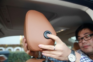 宝马4系(进口)驾驶员头枕图片