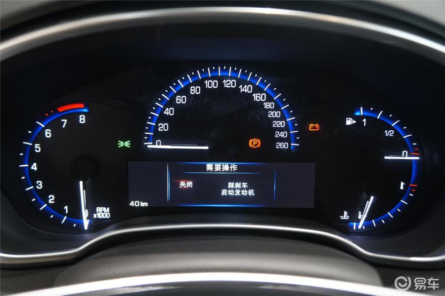 凯迪拉克 srx2014款3.0l 手自一体 旗舰型 仪高清图片