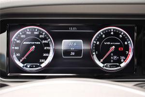 奔驰S级AMG仪表 图片