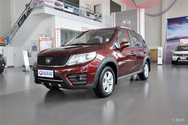 景逸X3尊享千元精品特惠 你的第一辆SUV