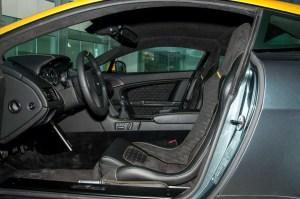 阿斯顿·马丁V8 Vantage前排空间图片