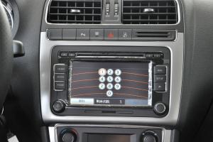 POLO中控台音响控制键