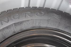 北汽E系列两厢 备胎规格