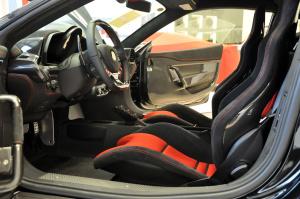 进口法拉利458 前排空间