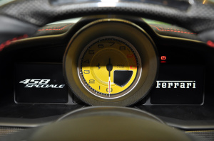 进口法拉利458 仪表盘背光显示