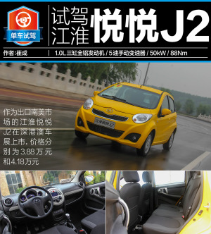 悦悦江淮悦悦J2-图解图片