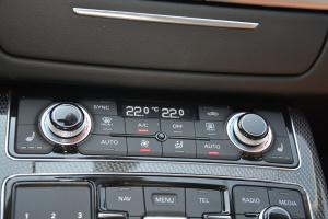 S8中控台空调控制键