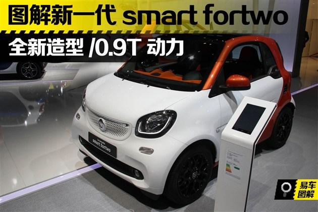 新一代smart fortwo图解 新造型/0.9T动力
