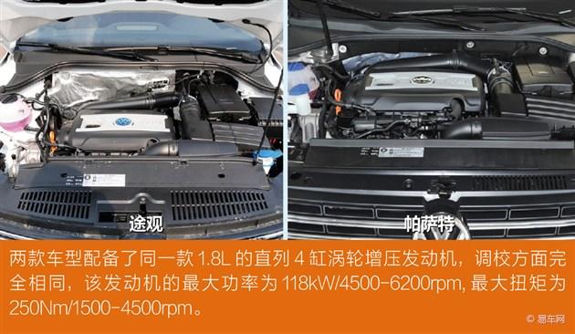动力:同搭1.8t发动机变速箱帕萨特有优势