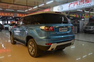 广汽吉奥GX6 后45度(车头向左)
