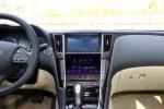 英菲尼迪Q50L中控台正面图片