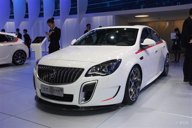 2014广州车展 别克君威GS定制版发布