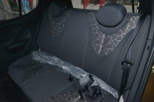奇瑞QQ后排座椅图片