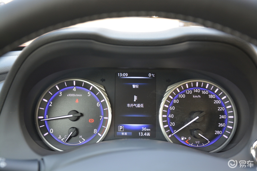 【Q50L2015款2.0T舒适版汽车汽车图片-仪表翼虎二保做哪些图片