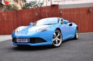 Artega GT 蓝色