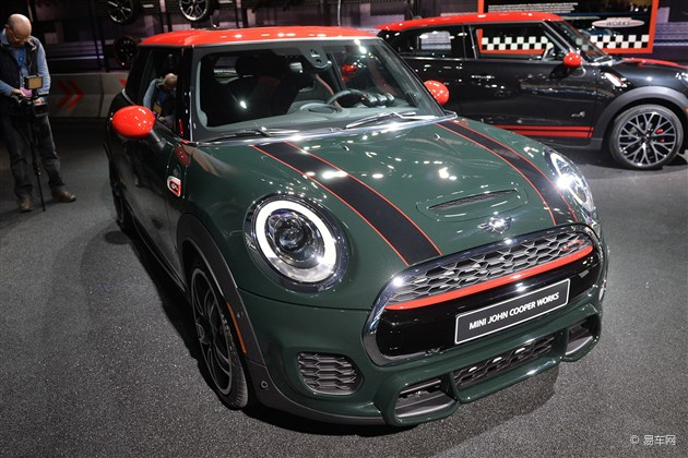 MINI JCW于2015北美车展上市 或年内引入